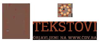 Tekstovi objavljeni na www.cdv.ba
