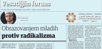 Esmir Halilović: Obrazovanjem mladih protiv radikalizma