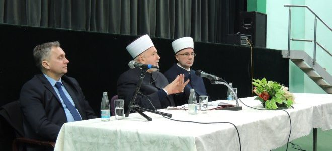 Predsjednik UO Centra na tribini u Srebreniku