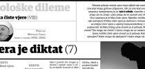 Dr. Mustafa Cerić: Kritika čiste vjere (VIII): Vjera je diktat (7)